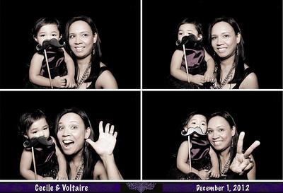 LA 2012-12-1 Cecile & Voltaire