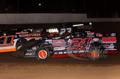24 Ryan Unzicker, 11 Tyler Reddick, and 23 John Blankenship