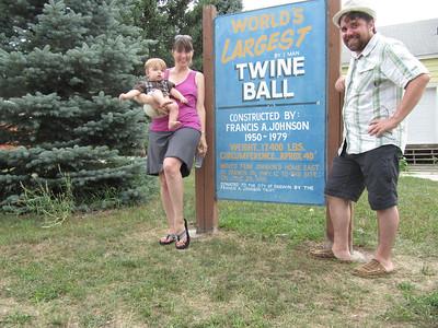 Lake Florida and The Twine Ball!