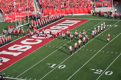Last Game at Camp Randall 11-17-2012
