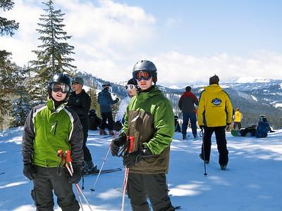Late Season Skiing At Sugarbowl