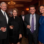 Thomas A. Renyi, Senior Advisor to CVC Capital Partners and Member, Board of Directors of Public Service Enterprise Group Incorporated and RiskMetrics Group, and his wife Elizabeth Renyi, a Leake & Watts Board Member, both of Manhattan;  Andrew van der Vord, Leake & Watts Board Member and Gala Chair, of Harrison; and Agnes Hassell, Leake & Watts Board Member, of Chappaqua