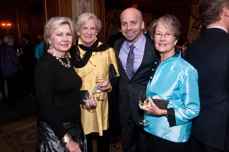 Barbara Jackson, of Mount Kisco; Sue Taub, of Briarcliff; Alan Mucatel, Executive Director of Leake & Watts; andLove Wooten, of Mount Kisco