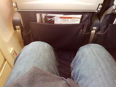 Exit row leg-room goodness!