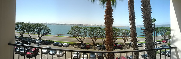 View from the hotel room.