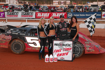 Jared Landers won the Red Buck Cigars Fast Time Award