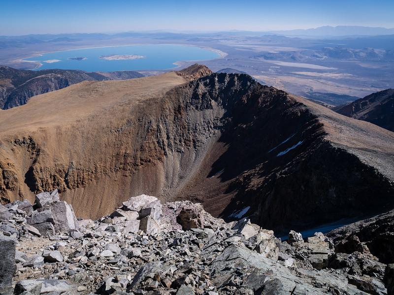 North spur of Mt. Dana