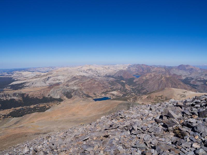 Eastern boundary of Yosemite