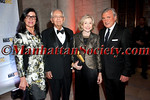 """Lisa Niccolini, Peter Peterson, Joan Ganz Cooney, Julian Niccolini attend Municipal Art Society of New York's """"2012 Jacqueline Kennedy Onassis Medal"""" Award Gala, honoring Joan Ganz Cooney and Pete Peterson on Thursday, April 19, 2012 in New York City at The New York Public Library, Stephen A. Schwarzman Building, Fifth Avenue at 42nd Street (Photos by Christopher London ©2012 ManhattanSociety.com)"""