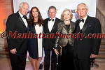 """Michael Hoffman, Jane Hoffman, Vin Cipolla, Joan Ganz Cooney and Pete Peterson attend  Municipal Art Society of New York's """"2012 Jacqueline Kennedy Onassis Medal"""" Award Gala, honoring Joan Ganz Cooney and Pete Peterson on Thursday, April 19, 2012 in New York City at The New York Public Library, Stephen A. Schwarzman Building, Fifth Avenue at 42nd Street (Photos by Christopher London ©2012 ManhattanSociety.com)"""