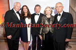 """Michael Hoffman, Jane Hoffman, Vin Cipolla, Joan Ganz Cooney, Pete Peterson attend Municipal Art Society of New York's """"2012 Jacqueline Kennedy Onassis Medal"""" Award Gala, honoring Joan Ganz Cooney and Pete Peterson on Thursday, April 19, 2012 in New York City at The New York Public Library, Stephen A. Schwarzman Building, Fifth Avenue at 42nd Street (Photos by Christopher London ©2012 ManhattanSociety.com)"""