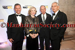 "Vin Cipolla, Joan Ganz Cooney, Mayor Mike Bloomberg, Pete Peterson attend Municipal Art Society of New York's ""2012 Jacqueline Kennedy Onassis Medal"" Award Gala, honoring Joan Ganz Cooney and Pete Peterson on Thursday, April 19, 2012 in New York City at The New York Public Library, Stephen A. Schwarzman Building, Fifth Avenue at 42nd Street (Photos by Christopher London ©2012 ManhattanSociety.com)"