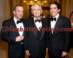 """David Peterson, Peter G. Peterson, Michael A. Peterson attend  Municipal Art Society of New York's """"2012 Jacqueline Kennedy Onassis Medal"""" Award Gala, honoring Joan Ganz Cooney and Pete Peterson on Thursday, April 19, 2012 in New York City at The New York Public Library, Stephen A. Schwarzman Building, Fifth Avenue at 42nd Street (Photos by Christopher London ©2012 ManhattanSociety.com)"""
