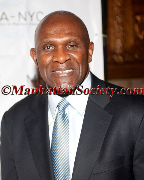 "NEW YORK – JUNE 5: Harry Carson attends MENTAL HEALTH ASSOCIATION OF New York City (MHA-NYC): 2012 ""Bridges to Mental Health: A Celebration of Hope"" Gala on Tuesday, June 5, 2012 in New York City at Cipriani 42nd Street, 110 East 42nd Street, New York City, NY  (Photos by Christopher London ©2012 ManhattanSociety.com)"