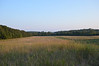 Union troops were marching along the road at the end of this field when they were sited by Stonewall Jackson.