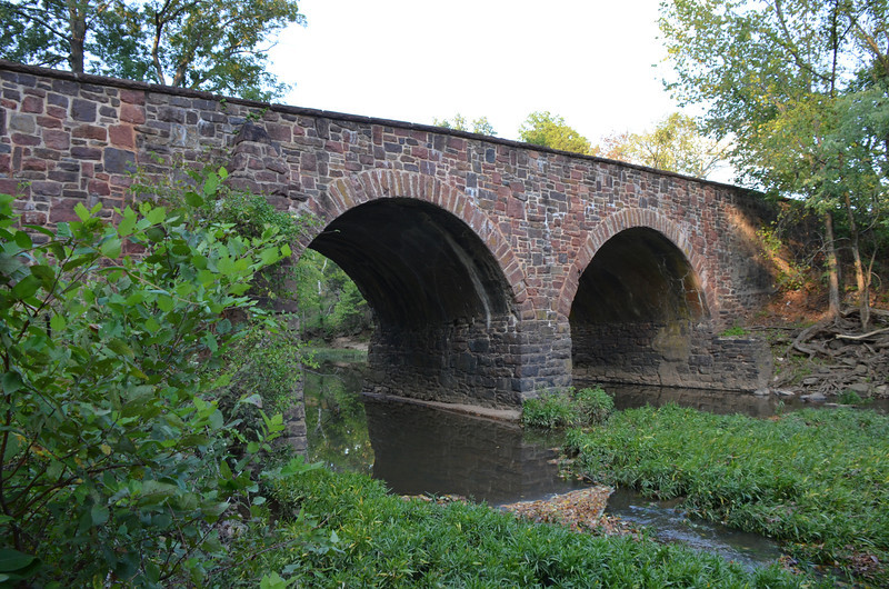 "The ""new"" bridge over Bull Run"