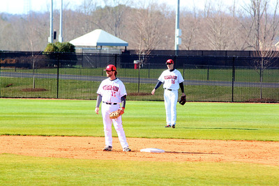 First Baseman, No. 15, Dusty Quattlebaum and outfielder, No. 16, Benji Jackson