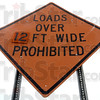 Tribune-Star/Jim Avelis<br /> Narrow is the way: A 12 foot with restriction will be in place on traffic traveling I-70 between the state line and US 41 starting about April 6.