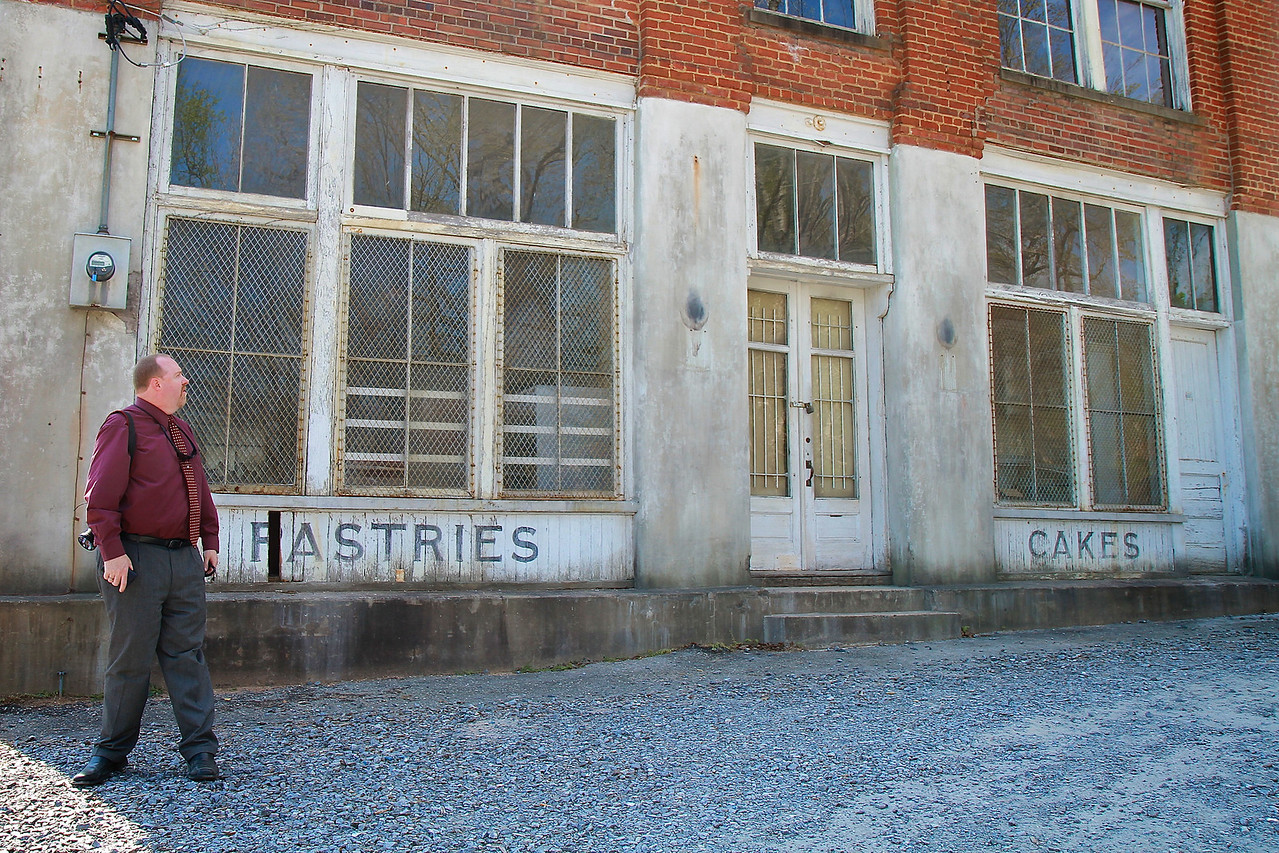Property belonging to GWU trustee Wade Shepherd, used as a film site of The Hunger Games feature flick, 2012.