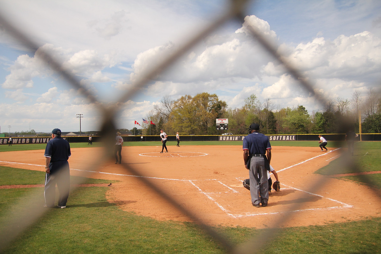 Behind the scenes look at the 3pm softball game where the lady bulldogs face off against the lady liberty flames.