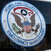 Homeland: Detail photo of decal.