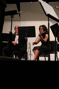 Orchestra Concerto featured soloists: Chelsea Coleman, James Withrow, Hannah Blalock and Jonathan Duncan.