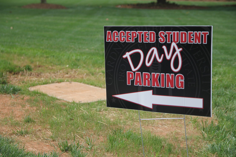 Accepted Student's Day is a day where students who have been accepted to Gardner-Webb are able to come get a feel for the campus.