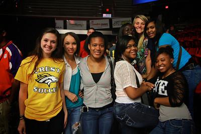 Rachel's Challenge assembly at Gardner-Webb University for local area high school freshmen and sophomores.