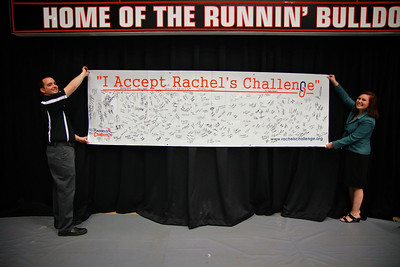 Rachel's Challenge assembly at Gardner-Webb University for local area high school freshmen and sophomores.