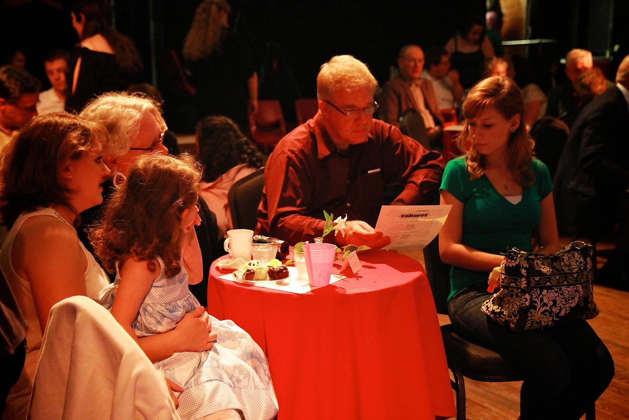 Sondheim Extravaganza Musical Theatre performance in the Millennium Playhouse, March 30, 2012.