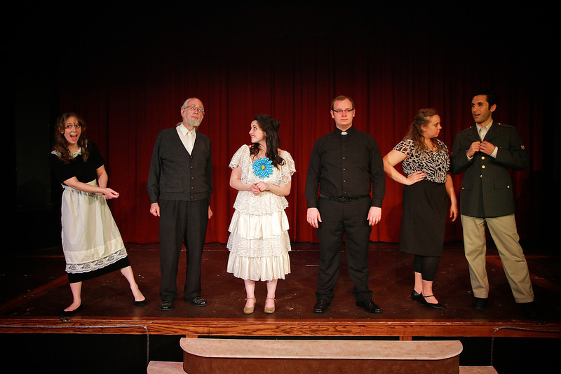 Sondheim Extravaganza Musical Theatre performance in the Millennium Playhouse, March 30, 2012.