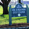 Rea Park signage.