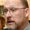Tribune-Star/Joseph C. Garza<br /> Scott Bonham, Terre Haute Federal Prison chaplain.