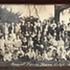 Tribune-Star/Jim Avelis<br /> Period dress: One of two vintage photographs on the wall of the Moose lodge shows a gathering of members and their families in 1923.