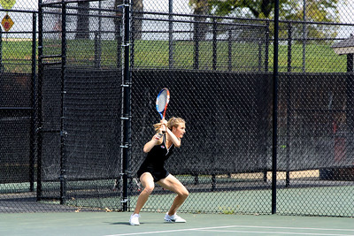 Alice Hopkins during Sunday's 7-0 win over Western Carolina