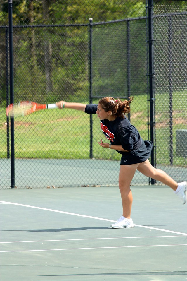 Yasmin Doost during Sunday's 7-0 win over Western Carolina