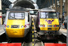21 March 2012 :: King's Cross with 43308 and 'Flying Scotsman' 82205