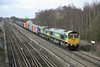 20 March 2012 :: 66541 and 66542 head 4Ms8 from Southampton to Ditton