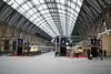 21 March 2012 :: King's Cross after refurbishment showing newly glazed roof