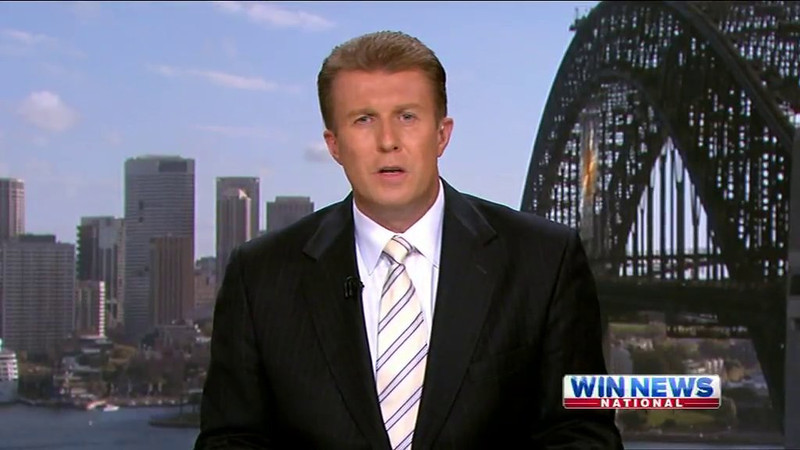 Nine News, Monday 5th March 2012