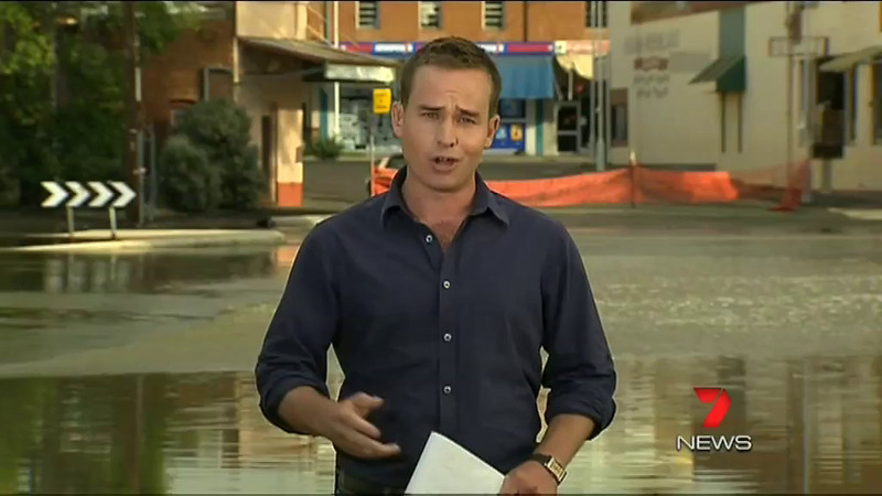 Seven News, Wednesday 7th March 2012