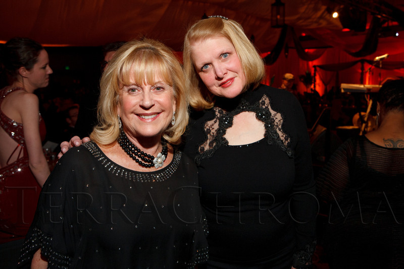 Faye Gardenswartz and Paula Newberry-Arnold (Newberry Brothers).  The ICON Awards Gala 2012, presented by Colorado Expression and Confetti magazines, at Grand Hyatt Denver near Denver, Colorado, on Friday, March 9, 2012.<br /> Photo Steve Peterson