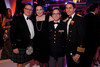 Bruce and Nicole Adair, Robert Thompson, and Genaro Mercado.  The Beaux Arts Ball, benefiting National Jewish Health, at Wings Over the Rockies Air & Space Museum in Denver, Colorado, on Saturday, March 10, 2012.<br /> Photo Steve Peterson