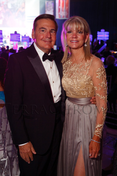 Lew and Rebecca Kling.  The Beaux Arts Ball, benefiting National Jewish Health, at Wings Over the Rockies Air & Space Museum in Denver, Colorado, on Saturday, March 10, 2012.<br /> Photo Steve Peterson