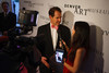 Christoph Heinrich speaks with Catt Sadler of E! News.<br /> Photo Steve Peterson
