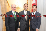 Woody Johnson, George P. Bush,  Jay S. Zeidman