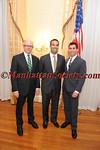 Woody Johnson, George P. Bush,  Jay S. Zeidman