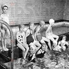 Photo courtesy of Becky Buse<br /> Swimmers pose for a photo in the pool at the YWCA in 1951.