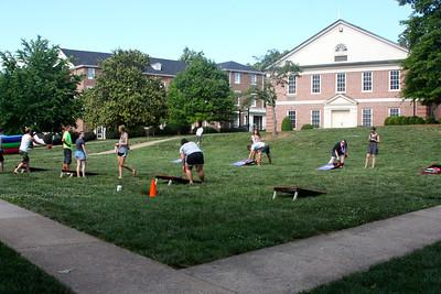 Students enjoy last blast on the quad held Friday, May 4th.