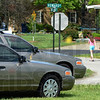 Tribune-Star/Jim Avelis<br /> Quiet neighborhood: Children walk through Howard Subdivision Wednesday afternoon. 12 year-old Alyssa Sedletzeck went missing from there Sunday night.
